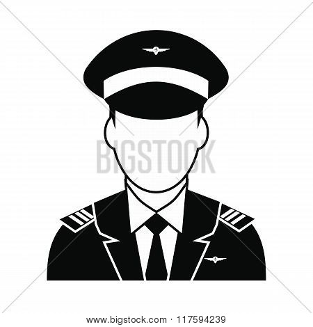 Captain of the aircraft icon