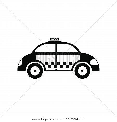 Taxi black simple icon
