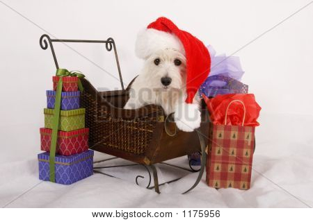 Santa'S Westie Helper