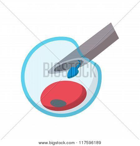 Artificial insemination cartoon icon