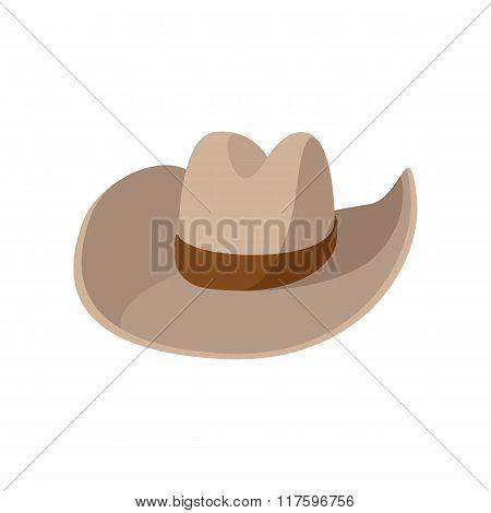 Cowboy hat cartoon icon