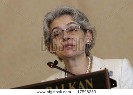 Bulgaria Politics Irina Bokova