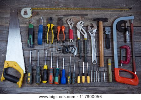 Various Tools Background.