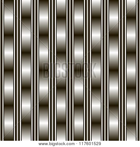 Seamless Black And White Pattern With Gradient Transitions