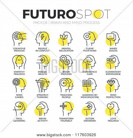 Human Mind Futuro Spot Icons