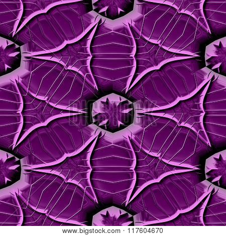 Abstract decorative iron violet texture-pattern