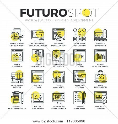 Website Customization Futuro Spot Icons