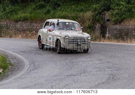FIAT 1100 103 berlina mille miglia 2015