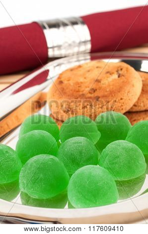 Green Jelly Candy