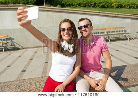We love making selfie