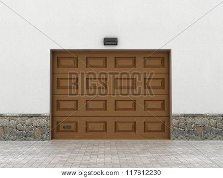 Garage Doors. Garage Concept.