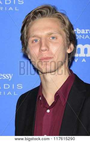 SANTA BARBARA - FEB 9: Martin Risberg at the Montecito Award at the Arlington Theatre at the 31st Santa Barbara International Film Festival on February 9, 2016 in Santa Barbara, CA