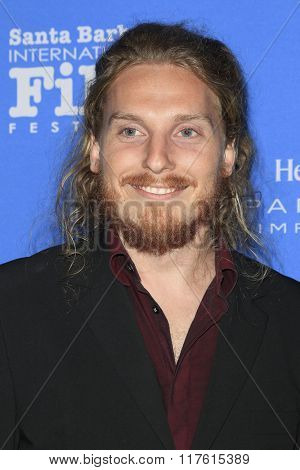 SANTA BARBARA - FEB 9: Adam Stumle at the Montecito Award at the Arlington Theatre at the 31st Santa Barbara International Film Festival on February 9, 2016 in Santa Barbara, CA
