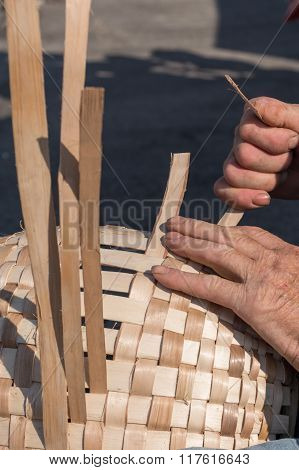 Person In Basketry