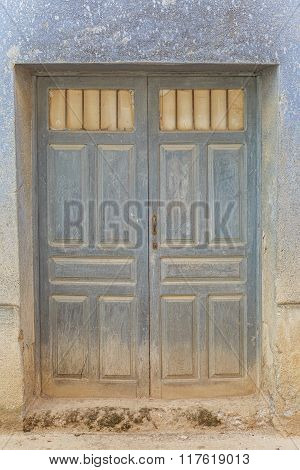 Old textured door