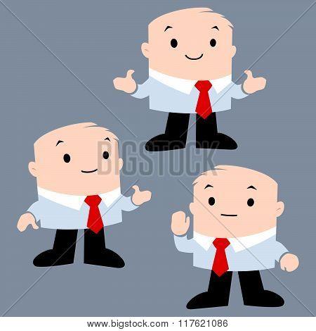 Cartoon Office Character