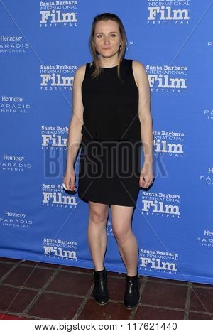 SANTA BARBARA - FEB 9:  Hajnalka Harsanyi at the 31st Santa Barbara International Film Festival Montecito Award at the Arlington Theatre on February 9, 2016 in Santa Barbara, CA