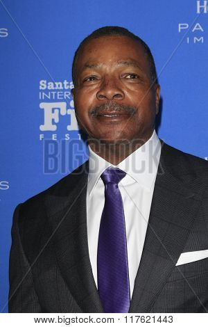 SANTA BARBARA - FEB 9:  Carl Weathers at the 31st Santa Barbara International Film Festival Montecito Award at the Arlington Theatre on February 9, 2016 in Santa Barbara, CA