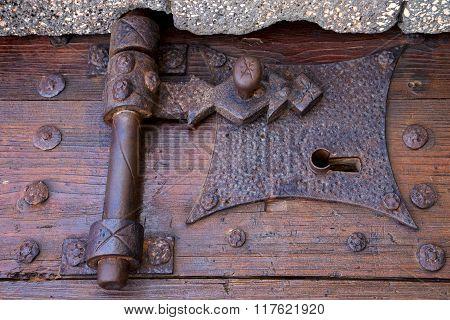 Castle Lock Spain Knocker
