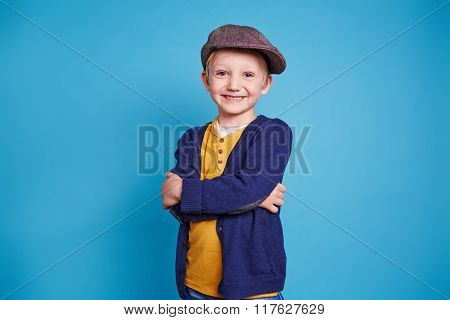 Child in casual-wear