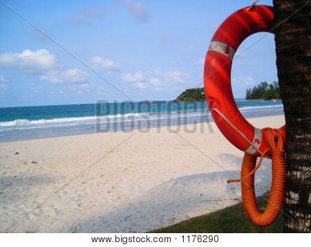 Life Buoy With Empty Space