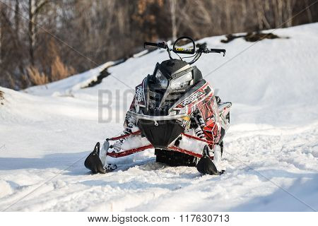 sports mountain snowmobile