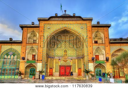 Zaid Mosque In Tehran Grand Bazaar - Iran