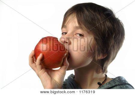 I Am Eating An Apple