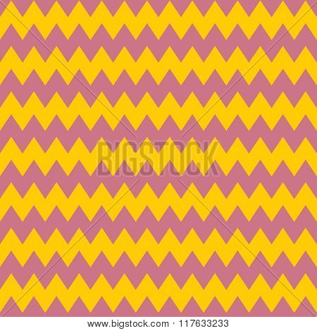 Tile vector pattern with yellow and pink arrows background