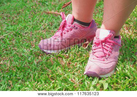 pink Sneaker Is Ready