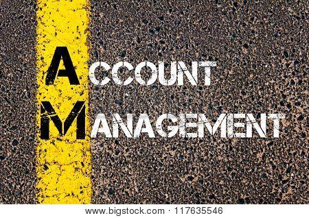 Business Acronym Am Account Management