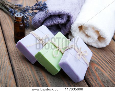 Handmade Lavender Soap And Oil
