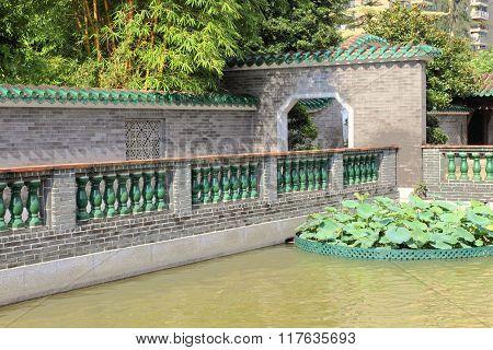oriental Chinese garden