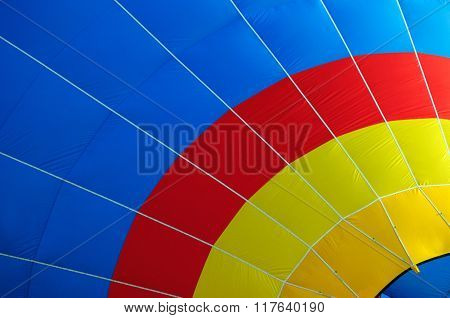 Multi Colored Hot Air Balloon