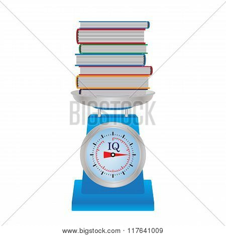 Books On The Scales.