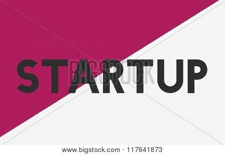 Ideas Creative Business Start up Concept