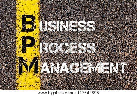 Business Acronym Bpm Business Process Management