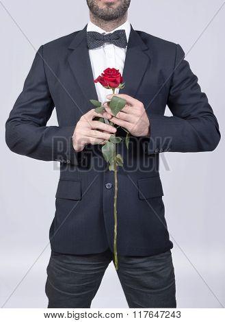 Valentines man