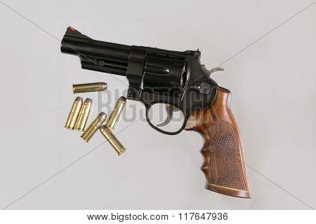 Blue Steel Revolver