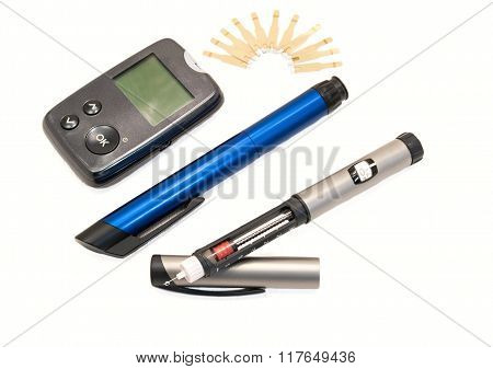Insulin Pens And Glucometer
