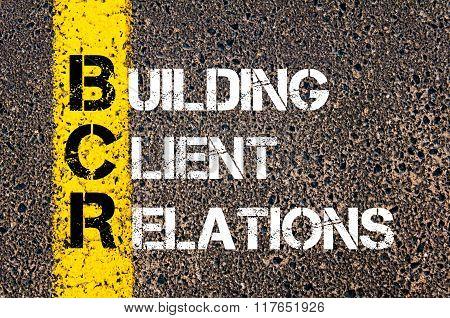 Business Acronym Bcr Building Client Relations