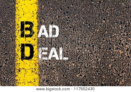 Business Acronym Bd Bad Deal