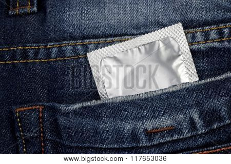 Condom In Package