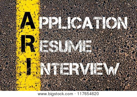 Business Acronym Ari