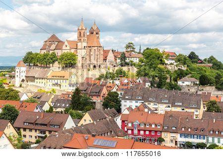 Breisach Church cityscape - Baden-Wurttemberg, Germany
