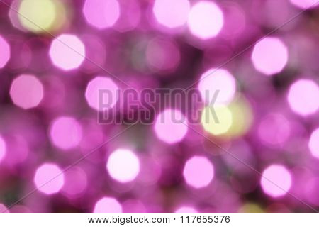 Abstract bright blured background with beatiful bokeh