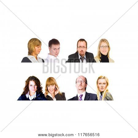 Small Group Office Faces