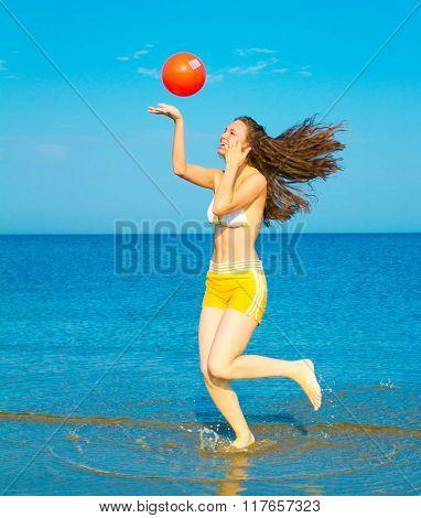 Playing In Joy Exercising Model