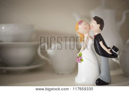 Statuette Of A Married Couple