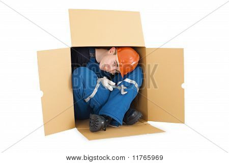 Hired Worker Arrived From Other Country